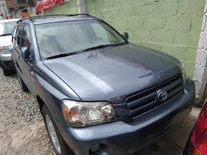 Toyota Highlander 2004 V6 FWD Blue | Cars for sale in Lagos State, Ifako-Ijaiye