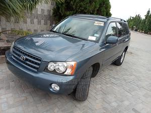 Toyota Highlander 2002 V6 AWD Blue | Cars for sale in Lagos State, Amuwo-Odofin