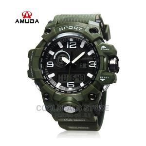 Amuda Men's Luxury Waterproof Luminous Digital Watch | Watches for sale in Lagos State, Ojota