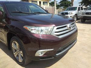 Toyota Highlander 2013 Limited 3.5L 2WD Red   Cars for sale in Lagos State, Ikeja
