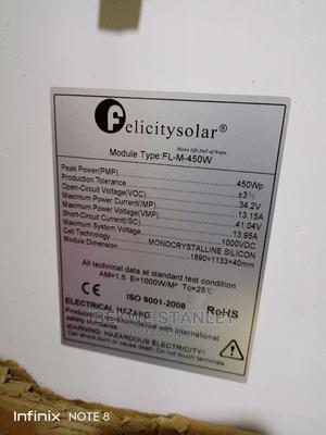 450w Mono Panel Felicity | Solar Energy for sale in Lagos State, Ojo