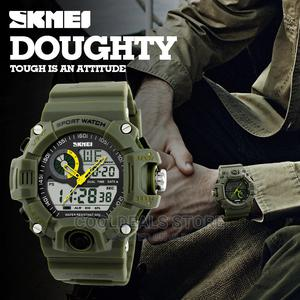 Skmei Men's Luxury Waterproof Luminous Digital Watch | Watches for sale in Lagos State, Ojota