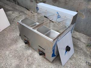 Double Basket Electric Deep Fryer   Restaurant & Catering Equipment for sale in Lagos State, Ikeja