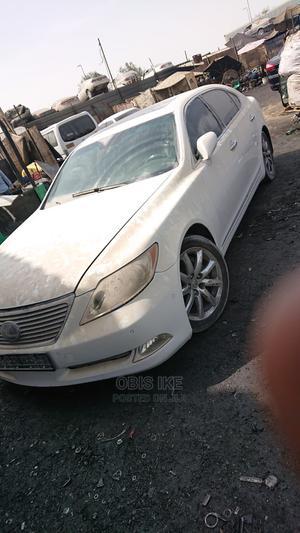 Lexus LS 2009 460 L White   Cars for sale in Edo State, Benin City