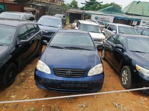 Toyota Corolla 2003 Sedan Automatic Blue | Cars for sale in Lagos State, Ojo