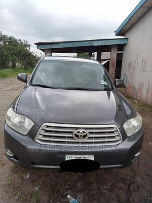 Toyota Highlander 2008 Limited 4x4 Gray | Cars for sale in Delta State, Warri