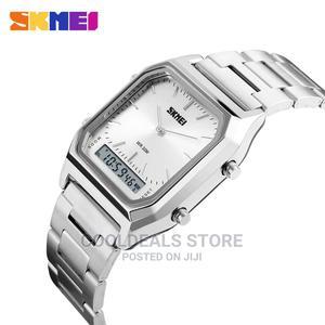 SKMEI Fashion Casual Men's Digital Waterproof Wrist Watch | Watches for sale in Lagos State, Ojota