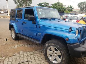 Jeep Wrangler 2014 Blue   Cars for sale in Lagos State, Ikeja