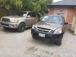 Honda CR-V 2004 2.0i ES Automatic Brown   Cars for sale in Lagos State, Ajah