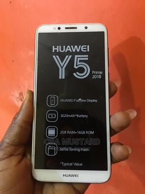 Huawei Y5 Prime 2018 16 GB Gold | Mobile Phones for sale in Lagos State, Ikeja
