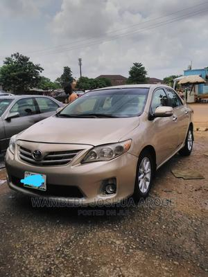 Toyota Corolla 2012 Gold | Cars for sale in Abuja (FCT) State, Asokoro