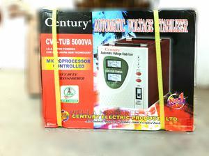 Century Automatic Voltage Stabilizer - CVR-TUB-5000VA | Electrical Equipment for sale in Lagos State, Ikotun/Igando