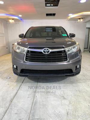 Toyota Highlander 2016 XLE V6 4x4 (3.5L 6cyl 6A) Gray | Cars for sale in Lagos State, Amuwo-Odofin