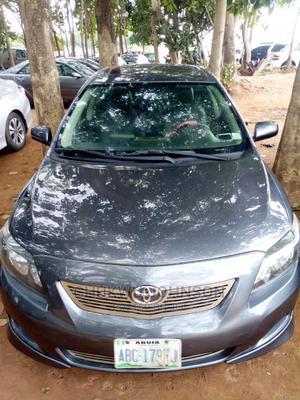 Toyota Corolla 2008 Black | Cars for sale in Abuja (FCT) State, Gaduwa