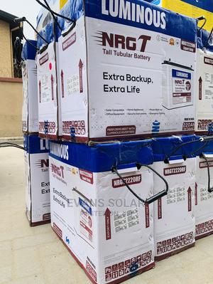 Luminous Tubular Battery 220ah 12v | Solar Energy for sale in Lagos State, Ojo