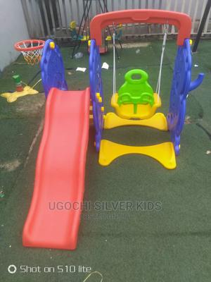 Children Swing And Slide With Basketball Rim | Toys for sale in Lagos State, Surulere