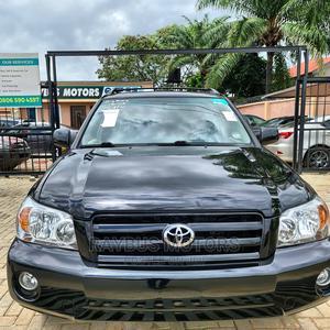 Toyota Highlander 2005 Limited V6 Black | Cars for sale in Ondo State, Akure