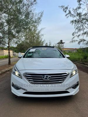 Hyundai Sonata 2015 White | Cars for sale in Oyo State, Ibadan