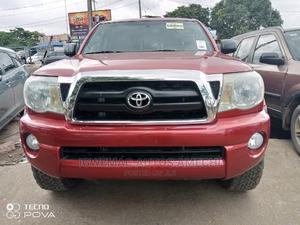 Toyota Tacoma 2006 PreRunner Access Cab Red | Cars for sale in Lagos State, Amuwo-Odofin