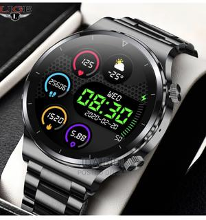2021 New Bluetooth Call Men Watch Steel Band Fitness | Watches for sale in Rivers State, Port-Harcourt
