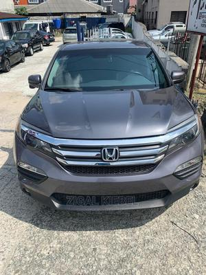 Honda Pilot 2017 EX 4dr SUV (3.5L 6cyl 5A) Gray | Cars for sale in Rivers State, Port-Harcourt