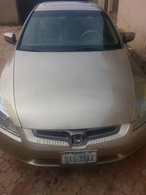 Honda Accord 2005 2.0 Comfort Automatic Gold | Cars for sale in Kogi State, Idah