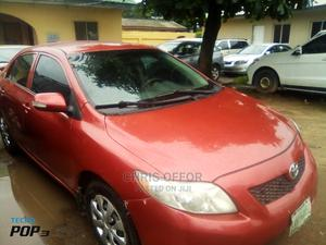 Toyota Corolla 2009 Red | Cars for sale in Lagos State, Yaba