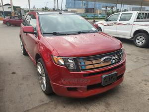 Ford Edge 2010 SE 4dr FWD (3.5L 6cyl 6A) Red | Cars for sale in Delta State, Warri