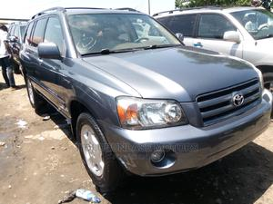 Toyota Highlander 2005 Limited V6 Blue   Cars for sale in Lagos State, Apapa