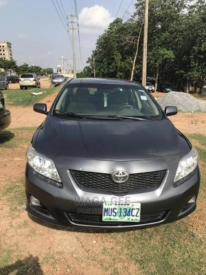 Toyota Corolla 2009 Gray | Cars for sale in Abuja (FCT) State, Gaduwa