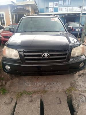 Toyota Highlander 2007 V6 4x4 Black | Cars for sale in Lagos State, Ikeja