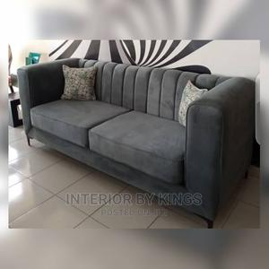 3seater Fabric Sofa Production Time:5days | Furniture for sale in Lagos State, Ajah