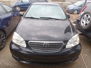 Toyota Corolla 2007 Black   Cars for sale in Lagos State, Ojodu