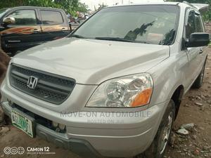 Honda Pilot 2004 EX 4x4 (3.5L 6cyl 5A) Silver | Cars for sale in Lagos State, Amuwo-Odofin