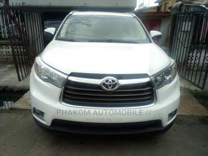 Toyota Highlander 2015 White   Cars for sale in Lagos State, Surulere