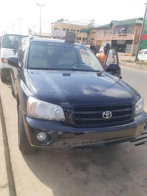 Toyota Highlander 2004 V6 FWD Black   Cars for sale in Edo State, Benin City