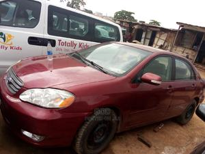 Toyota Corolla 2003 Red | Cars for sale in Lagos State, Ikeja