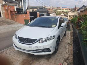 Honda Civic 2013 Sedan EX White | Cars for sale in Lagos State, Ojodu