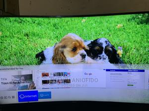 Samsung 50inch Smart Curve TV | TV & DVD Equipment for sale in Plateau State, Jos