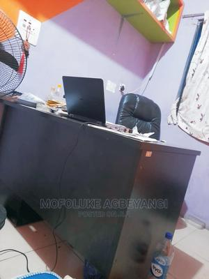 Office Table With Chest of Drawers With Keys.   Furniture for sale in Lagos State, Ojota