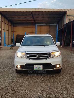 Honda Pilot 2015 White   Cars for sale in Abuja (FCT) State, Garki 2