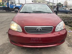 Toyota Corolla 2007 CE Red   Cars for sale in Lagos State, Amuwo-Odofin