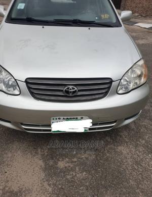 Toyota Corolla 2003 Sedan Automatic Silver | Cars for sale in Lagos State, Amuwo-Odofin