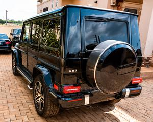 Mercedes-Benz G-Class 2007 Base G 55 AMG 4x4 Black   Cars for sale in Abuja (FCT) State, Wuse 2