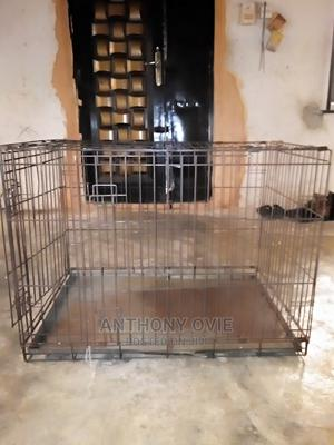 Dog Foldable Iron Cage   Pet's Accessories for sale in Lagos State, Badagry
