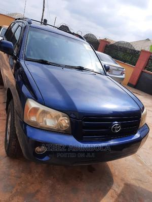 Toyota Highlander 2004 Limited V6 4x4 Blue | Cars for sale in Oyo State, Oluyole