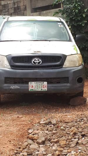 Toyota Hilux 2004 2800 Raider D-Cab White   Cars for sale in Oyo State, Ibadan