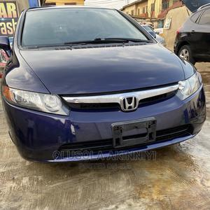 Honda Civic 2007 1.8 Sedan EX Automatic Blue | Cars for sale in Lagos State, Alimosho
