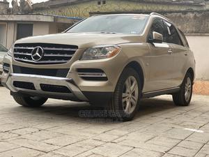 Mercedes-Benz M Class 2012 ML 350 4Matic Gold   Cars for sale in Lagos State, Isolo