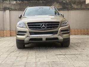 Mercedes-Benz M Class 2012 ML 350 4Matic Gold | Cars for sale in Lagos State, Isolo
